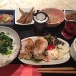 おうちカフェ 樹林 - 豆腐ハンバーグ