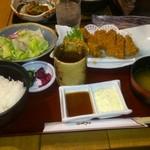 北斗七星 - ヒレカツとかきフライ定食