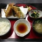 べにばな亭 - 天ぷら定食