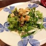 鎌倉パスタ - セットのサラダ