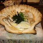 木村 - ホタテのみそ貝焼き