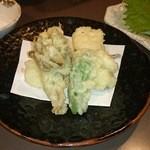 木村 - 鱈白子の天ぷら