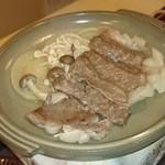 木村 - 倉石牛の陶板焼き