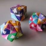 オーガニックカフェ チャント - 折り紙の多面体