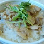 中華そば 四つ葉 - 蛤丼