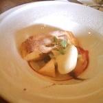 23589567 - パスタランチ \1500 ドルチェ・アップルパイのようなイタリア菓子