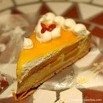 キルフェボン - 杏仁クリームとマンゴーのタルト