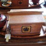 Hinodeya - 舟形のせいろが特徴。