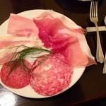 イル ピッツァイオーロ - イタリア産生ハムとサラミの盛り合わせ