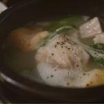 23590964 - 青家の地鶏滋養鍋(1680円)