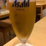 江戸 東京 寿し常 - 生ビール・小(420円)