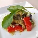 グラウンド ワーク - 鯖と揚げ野菜の香味マリネ