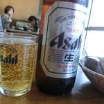 円 - 瓶ビール・大(\500)