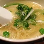 せせり - 〆の鳥スープ麺