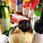 ビービーキューホッカイドウ - 北海道ワインも豊富にご用意