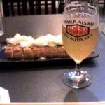 236044 - ビールと栃尾の油揚げ