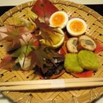 23600086 - (夕食)旬の山菜等の盛り合せ