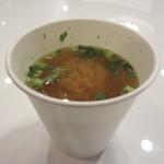 ホテルセレクトイン青森 - 無料の味噌汁