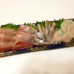 角上魚類 - 刺身晩酌盛り ¥680