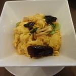 23600357 - 玉子と木くらげ・青菜の炒め