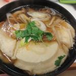勢登鮨 八食センター支店 - これが、八戸名物のせんべい汁です!