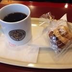 カフェベローチェ - コーヒーとクッキー