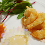 ginzarouran - 海老の揚げ物