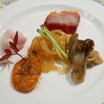 ginzarouran - 季節の彩り前菜盛り合わせ