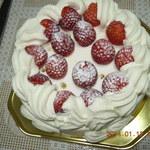 ジューンブライド - 6号デコレーションケーキ (\3,570)