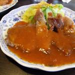 レストラン エム - 料理写真:ポークソテー定食 700円