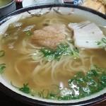 竹村食堂 - 中日(中華麺+日本だし) 400円 コスパ高いです。