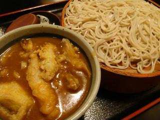 長生庵 - 付けカレー蕎麦