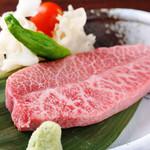 松阪牛たんど - 料理写真:『ミスジ』を食べられるお店