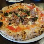 ナポリピッツァ Pizzeria la Rossa - サルシッチャ