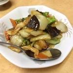 吉祥酒家 - ①野菜炒め