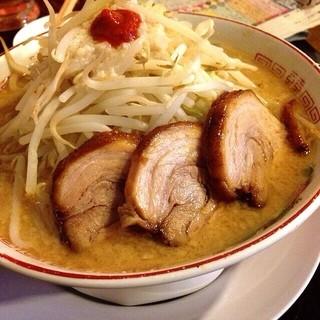 のろし 新発田店 - 味噌ラーメン肉3枚