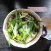 一福 - 料理写真:京都九条ねぎおろし(しらす抜き)