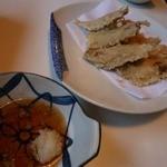親潮 - いわしの天ぷら