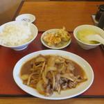 23619043 - ジンギスカン定食 750円
