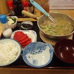 ひまつぶし - 料理写真:タラ汁定食 980円