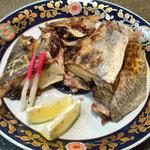 しのづか陣屋 - マグロのカマ。これが食べたくて再び・・・。