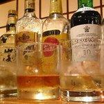 古ぢどり屋 - テキーラ、ラム、アイラウイスキー飲み比べ