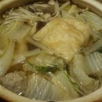 旬菜 一笑 - 鶏つみれ小鍋