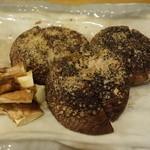 旬菜 一笑 - 肉厚椎茸の炙り