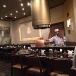 天ぷら ひさご - カウンター席側