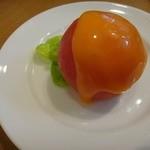 ラ・サンセール - 料理写真:トマトファルシーサラダ