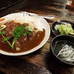 牡舌亭 - 牛タンカレー定食(2014.1)