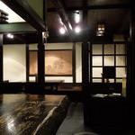 牡舌亭 - 趣きのある店内(2014.1)