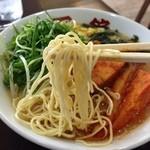 面館 - 細麺