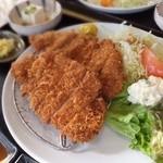 レストラン春日苑 - 甘とろ豚ロースかつ定食